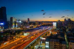 台北夜景写真