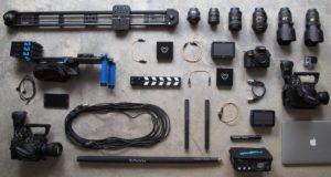 撮影機材イメージ