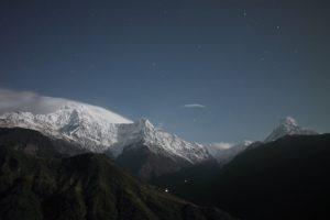 山岳写真(夜景)