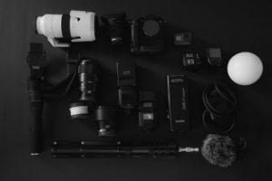 所有機材の集合写真
