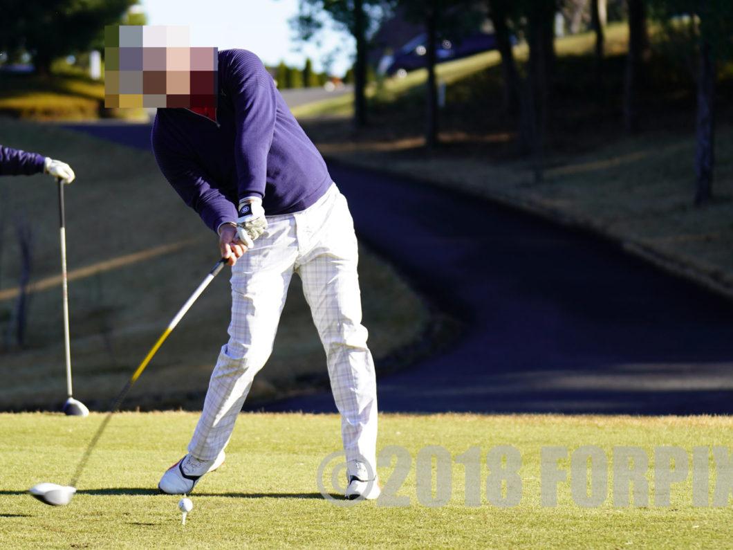 ゴルフショット風景写真