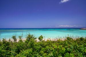 波照間島のビーチ