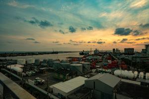 石垣島の夕景写真