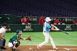 東京ドームでの草野球写真